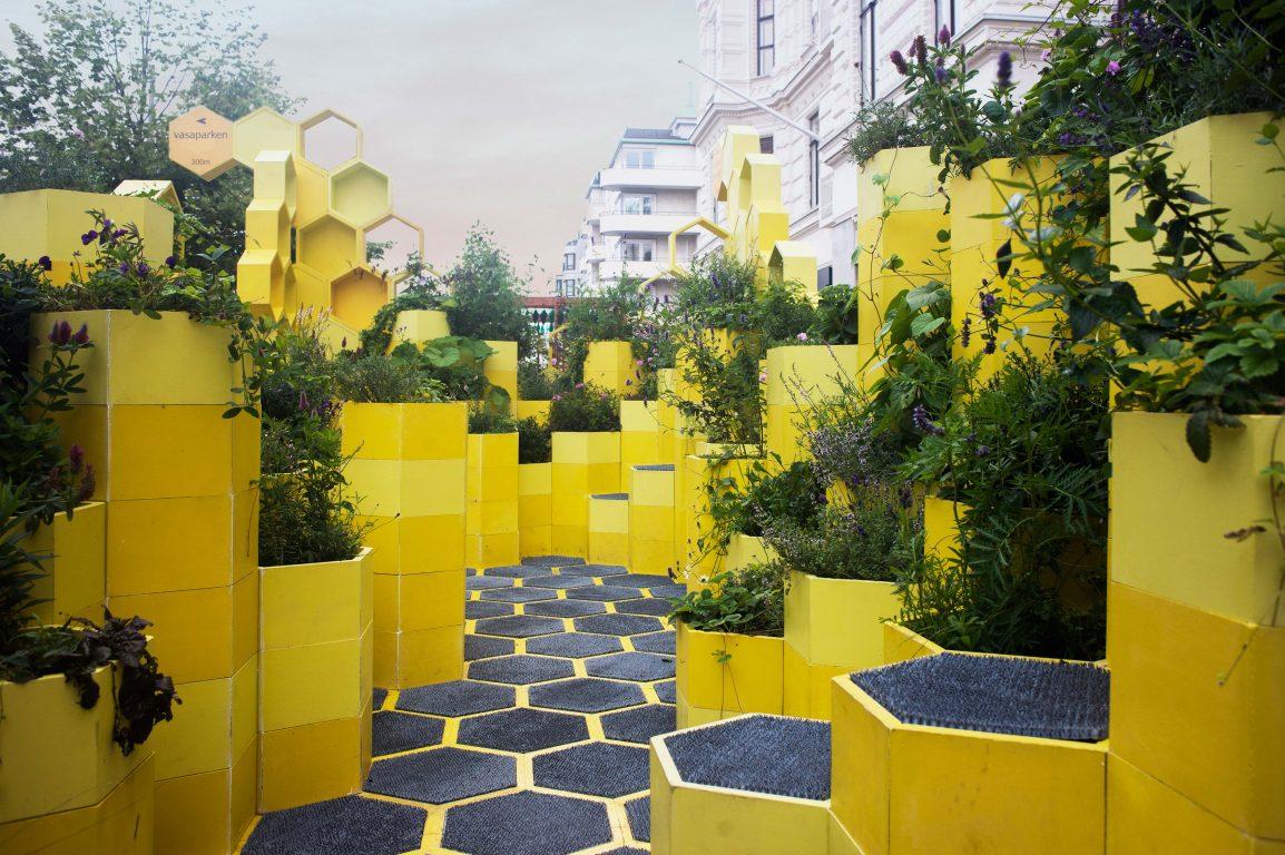 Hasselfors garden samarbete med green world