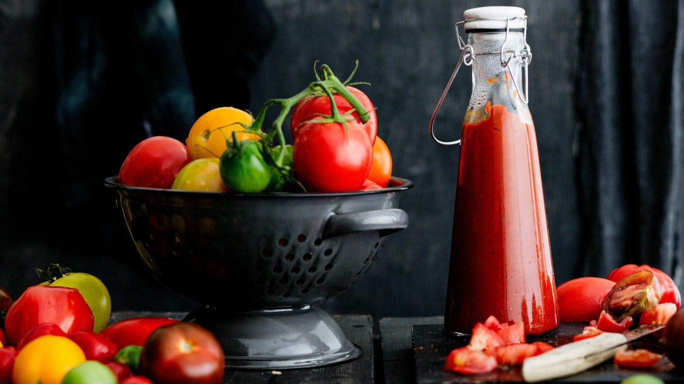 Recept till en hemlagad ketchup