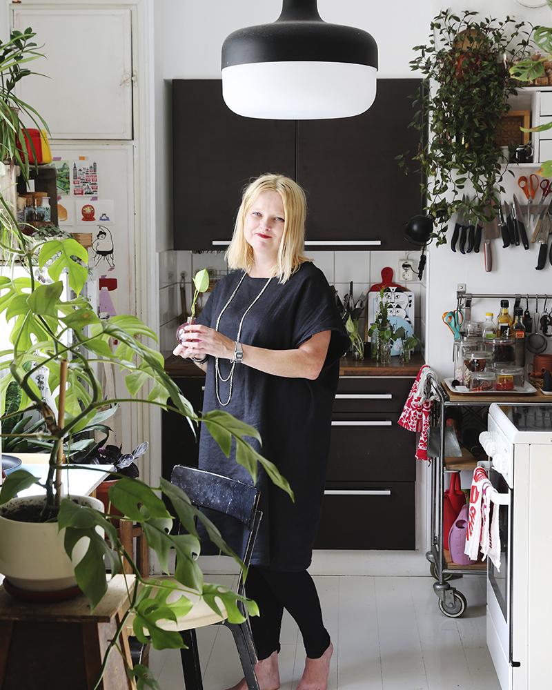 inredning med inomhusväxter